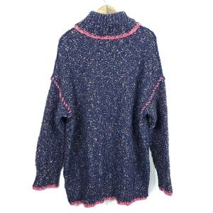 Free People Sweaters - Free People Echo Turtleneck Pullover Chunky Knit